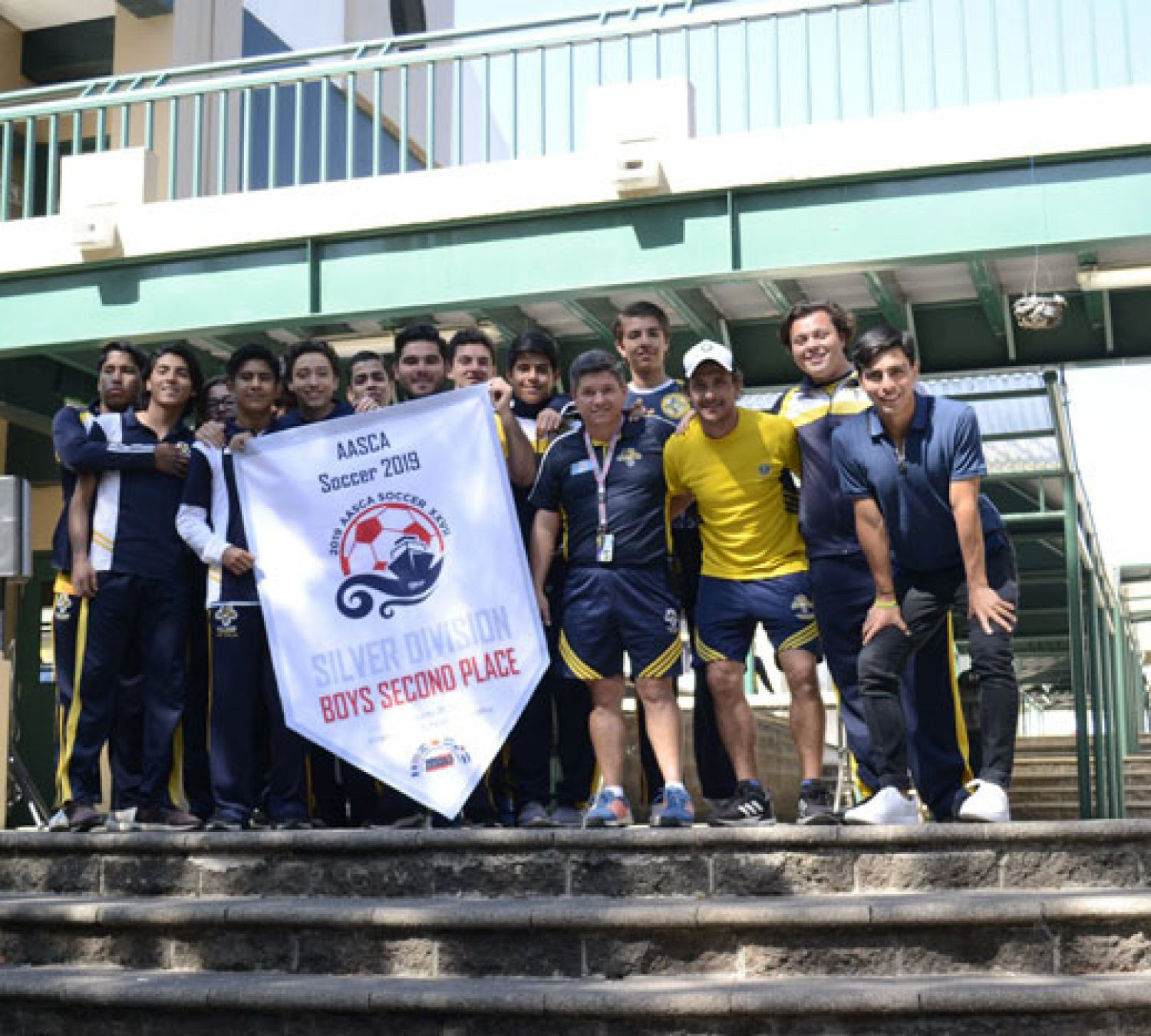 Second Place – Silver Division in AASCA Soccer 2019