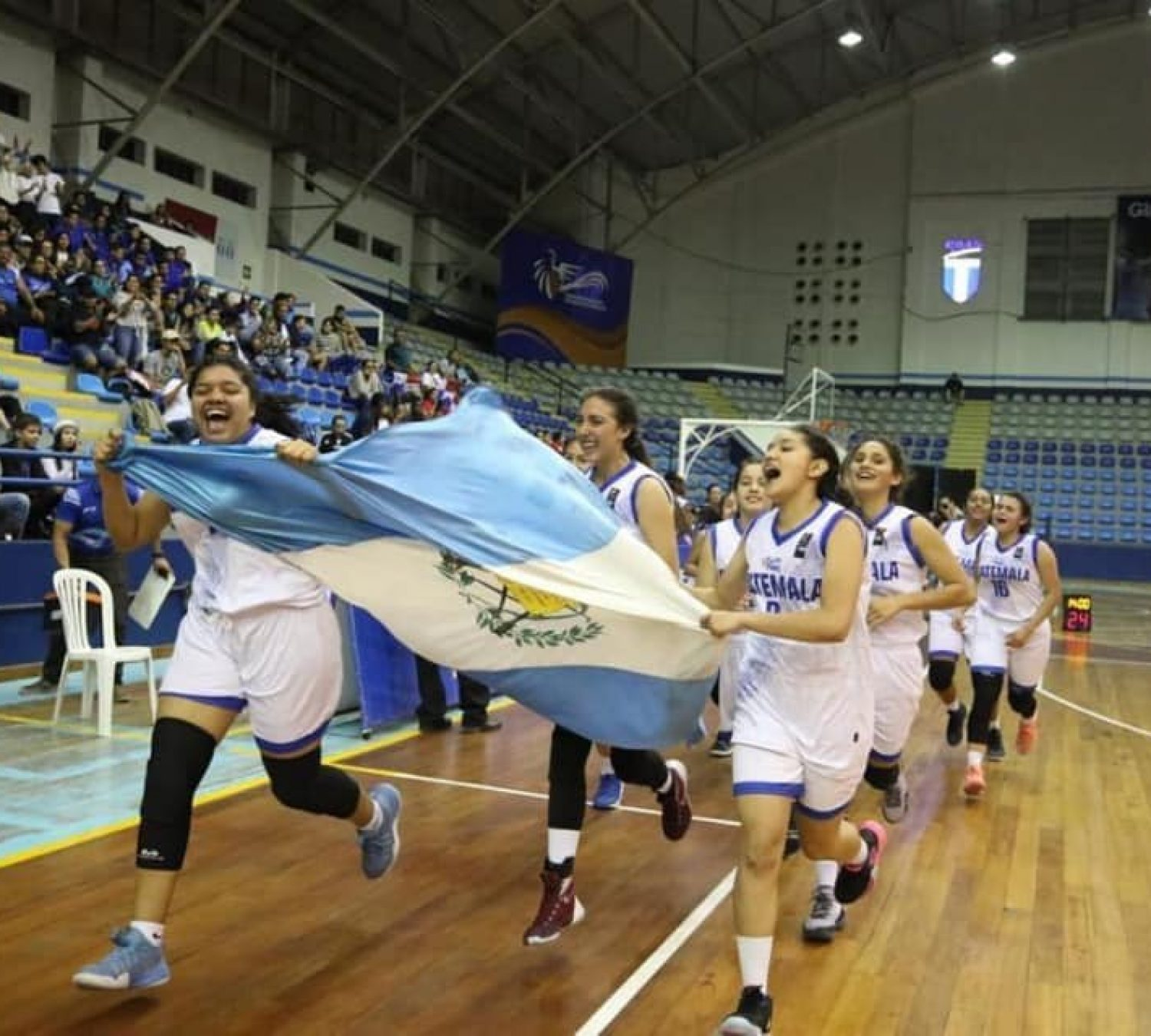 Guatemala wins the COCABA U16 Women's Championship at home!