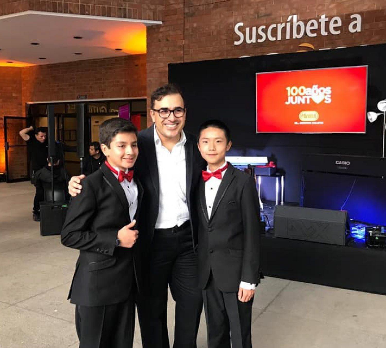 Fancisco Paez, Yahaira Tubac & Luis Pineda Playing Piano
