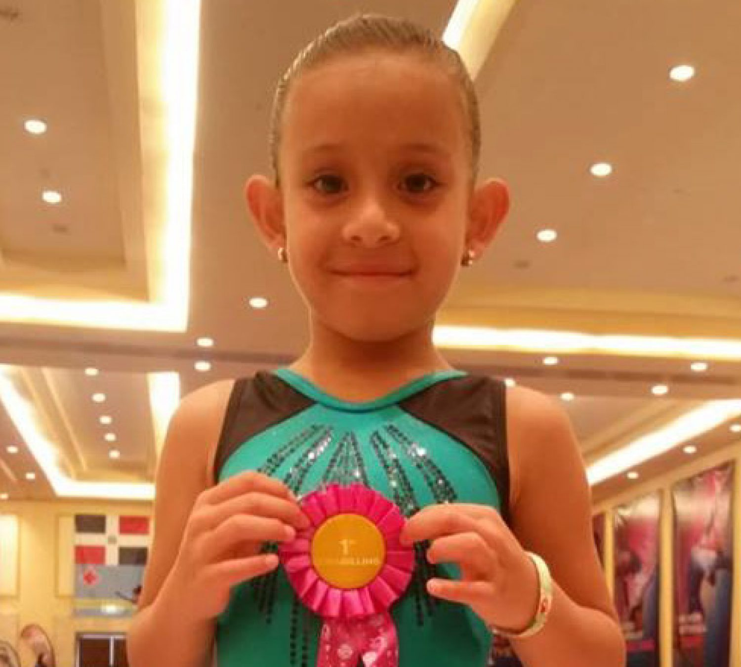 Congratulations Sofia Chaclán!  obtained 1st Place in Copa Gilling, Cancun Mexico