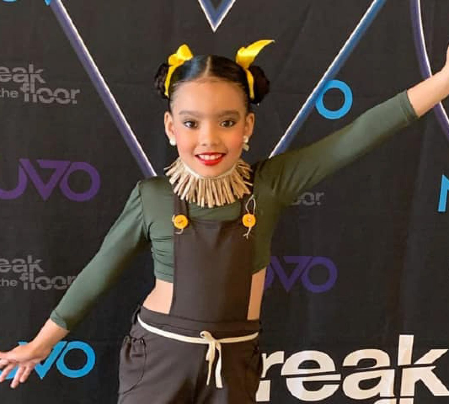 Natalia Rivera! Our Elementary student obtained First place in the TAP group category at NUVO
