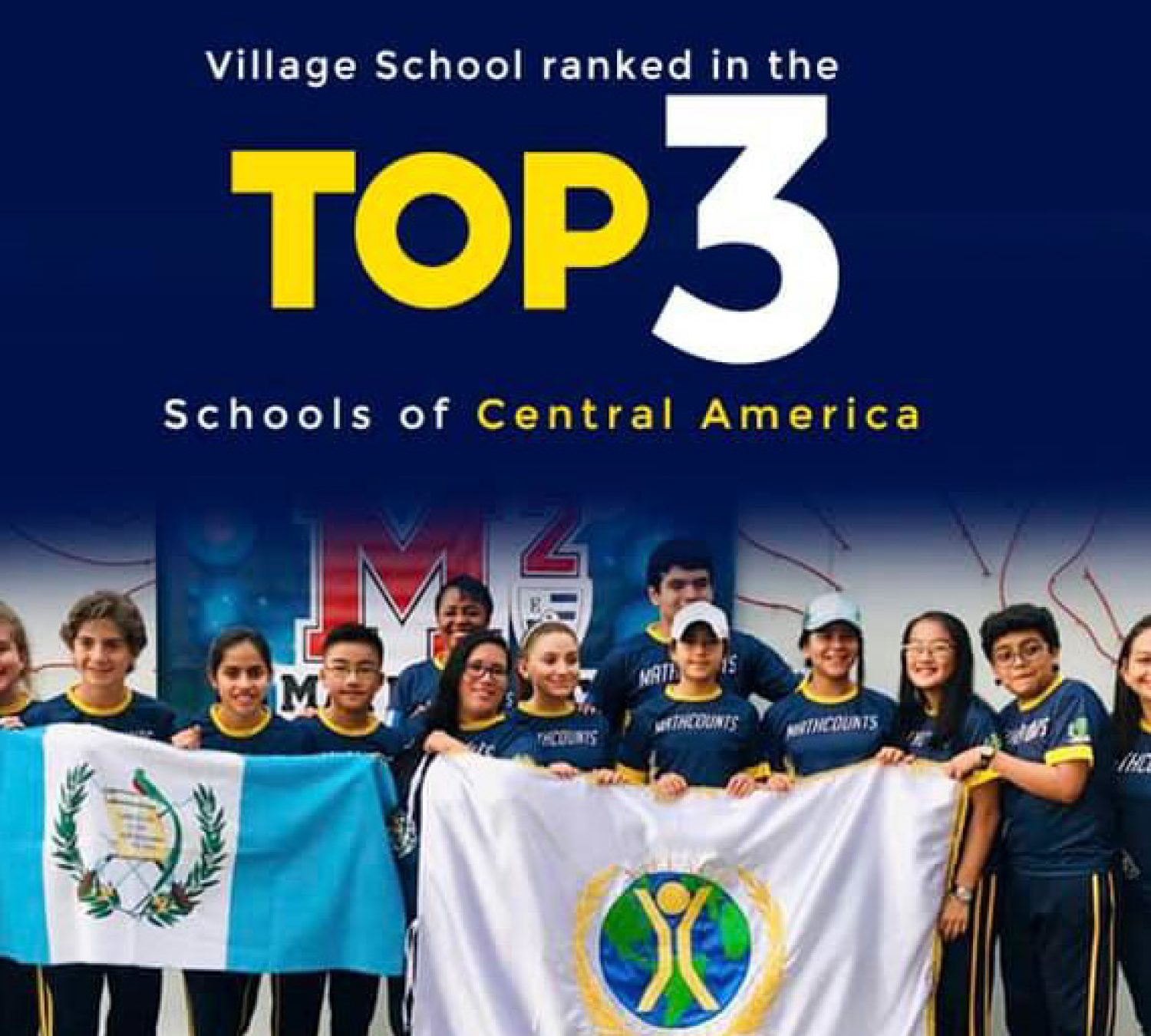 Top 3 in Central America Math Relay