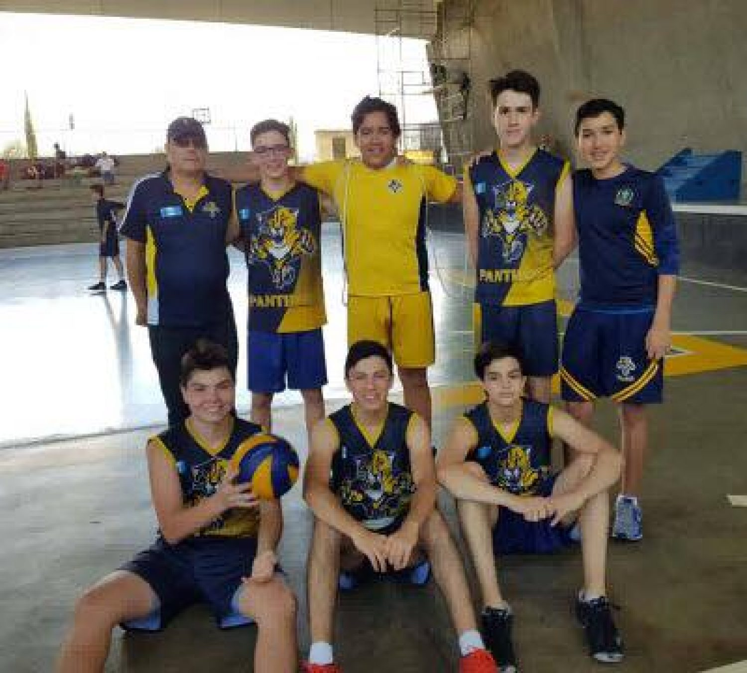 Congratulations to our Volleyball team at JUVENTUD, Don Bosco.